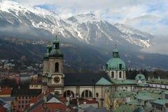 Ciudad de Innsbruck Imagen de archivo