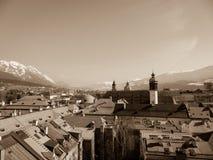 Ciudad de Innsbruck Imagen de archivo libre de regalías
