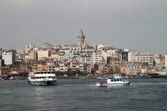 Ciudad de Istamnbul Fotos de archivo