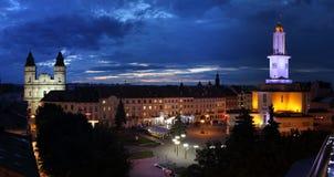 Ciudad de Ivano-Frankivsk Imagen de archivo libre de regalías