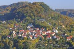 Ciudad de Jena, Thuringia, Alemania Fotografía de archivo libre de regalías