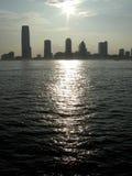 Ciudad de Jersey Fotografía de archivo libre de regalías