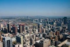 Ciudad de Johannesburgo fotos de archivo