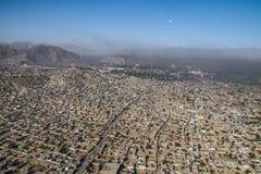 Ciudad de Kabul del aire del tha foto de archivo libre de regalías