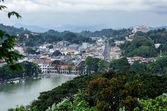 Ciudad de Kandy Imagen de archivo libre de regalías