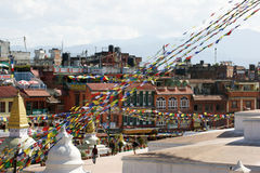 Ciudad de Katmandu, Nepal Foto de archivo