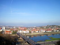 Ciudad de Kaunas, Lituania foto de archivo