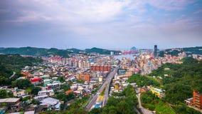 Ciudad de Keelung, Taiwán almacen de video