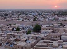 Ciudad de Khiva de arriba Fotografía de archivo libre de regalías