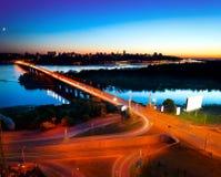Ciudad de Kiev - el capital de Ucrania Imágenes de archivo libres de regalías
