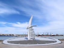 Ciudad de Klaipeda fotografía de archivo