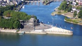 Ciudad de Koblenz Fotografía de archivo libre de regalías