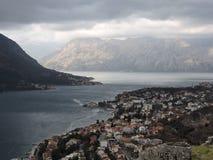 Ciudad de Kotor imagenes de archivo