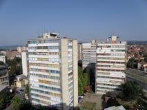 Ciudad de Kragujevac Imagen de archivo libre de regalías