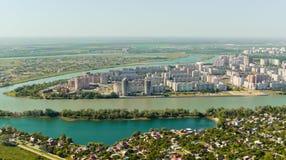 Ciudad de Krasnodar, Rusia Imagenes de archivo