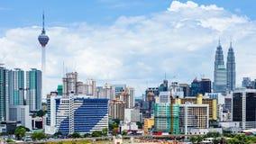 Ciudad de Kuala Lumpur Foto de archivo libre de regalías