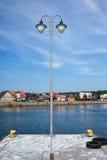 Ciudad de Kuznica en la península de los Hel en Polonia Imágenes de archivo libres de regalías
