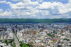 Ciudad de Kyoto Fotografía de archivo