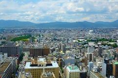 Ciudad de Kyoto Foto de archivo