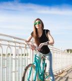 Ciudad de la bicicleta Fotos de archivo