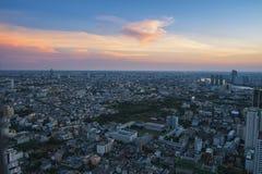 Ciudad de la ciudad Imagen de archivo libre de regalías