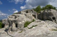 Ciudad de la cueva de Eski-Kermen Fotografía de archivo libre de regalías