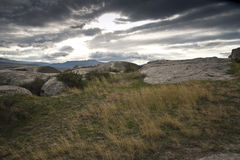 Ciudad de la cueva en Georgia Fotografía de archivo libre de regalías