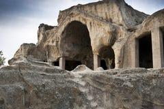 Ciudad de la cueva en Georgia Foto de archivo libre de regalías