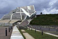 Ciudad de la cultura en Galicia Imagen de archivo libre de regalías