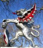 Ciudad de la estatua de Londres Imagen de archivo