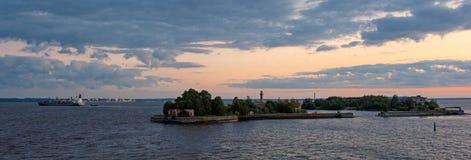 Ciudad de la Federación Rusa Imagen de archivo libre de regalías