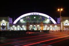 Ciudad de la iluminación del tráfico Imagen de archivo libre de regalías