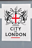 Ciudad de la insignia de Londres foto de archivo