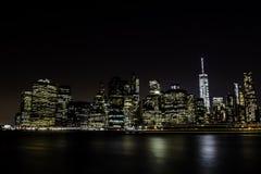 Ciudad de la luz que ciega Fotografía de archivo