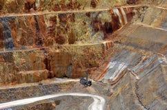 Ciudad de la mina de oro de Waihi - Nueva Zelanda Imágenes de archivo libres de regalías