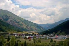 Ciudad de la montaña Foto de archivo
