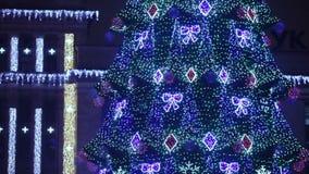Ciudad de la Navidad almacen de metraje de vídeo