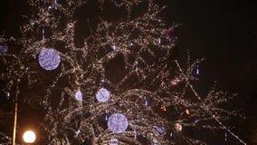 Ciudad de la Navidad almacen de video