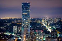 Ciudad de la noche Imagen de archivo
