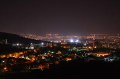 Ciudad de la noche Foto de archivo