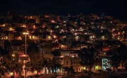 Ciudad de la noche imágenes de archivo libres de regalías