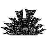 ciudad de la noche de los ejemplos Imagen de archivo