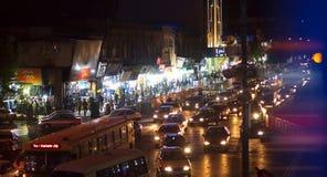 Ciudad de la noche de Shiraz fotos de archivo libres de regalías