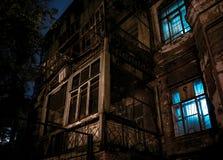 Ciudad de la noche St Petersburg Fotos de archivo