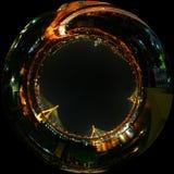 ciudad de la opinión de la noche Foto de archivo libre de regalías