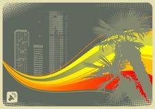 Ciudad de la palma Imagen de archivo
