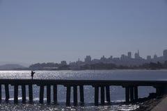 Ciudad de la pesca Foto de archivo