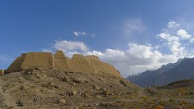 Ciudad de la piedra, ruinas del castillo real del reino antiguo de Puli Fotografía de archivo libre de regalías
