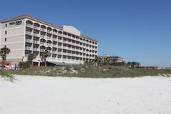 Ciudad de la playa de Jacksonville en la Florida fotos de archivo
