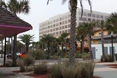 Ciudad de la playa de Jacksonville en la Florida fotografía de archivo